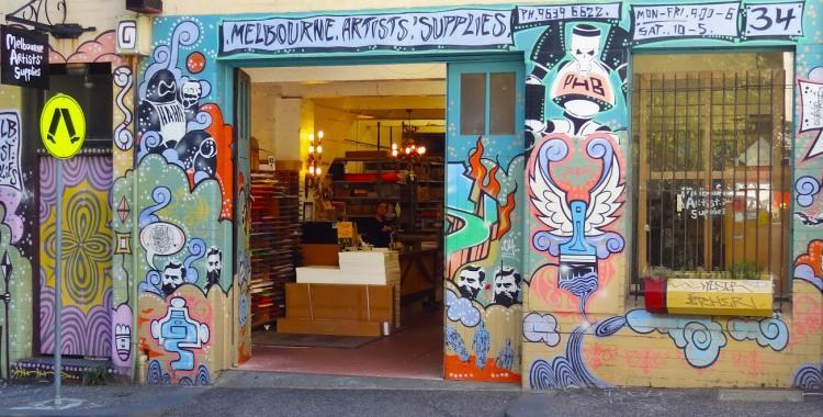 melbourne artists supplies